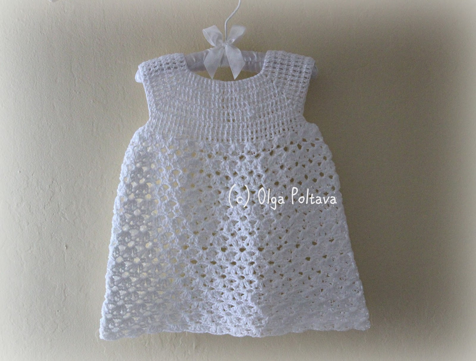 Lacy Crochet Two New Patterns Baby Dress and Girls Hat