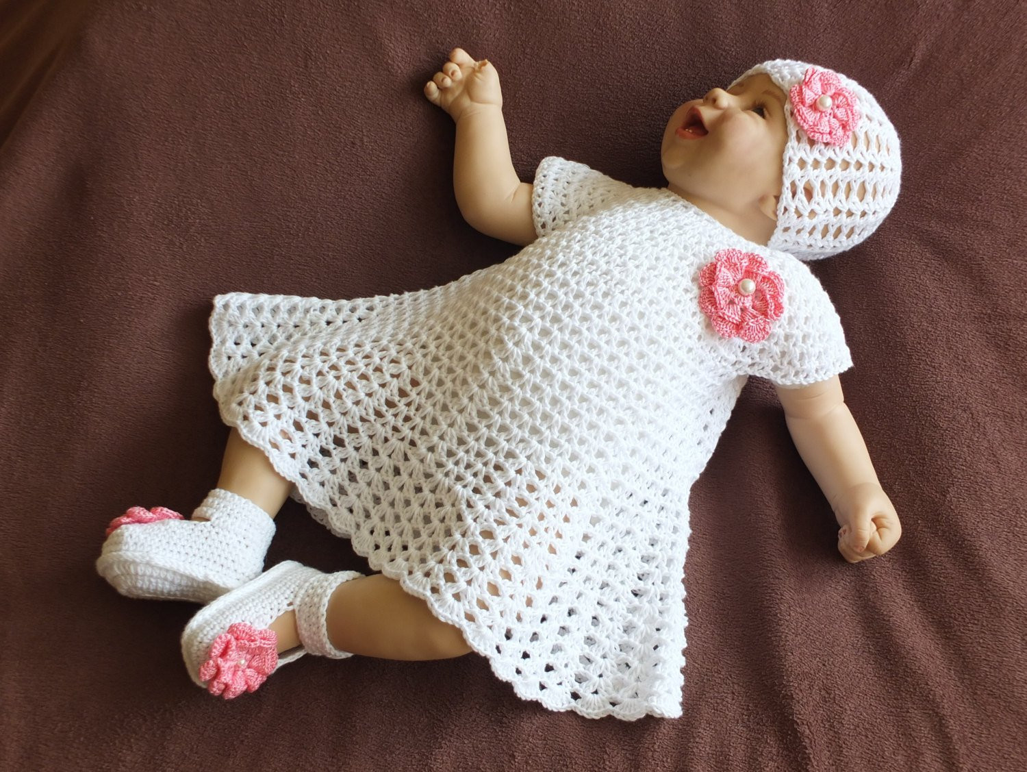 Crochet Baby Clothing Lovely Crochet Baby Dress Set White Baby Girl Summer Clothes Of Amazing 44 Ideas Crochet Baby Clothing