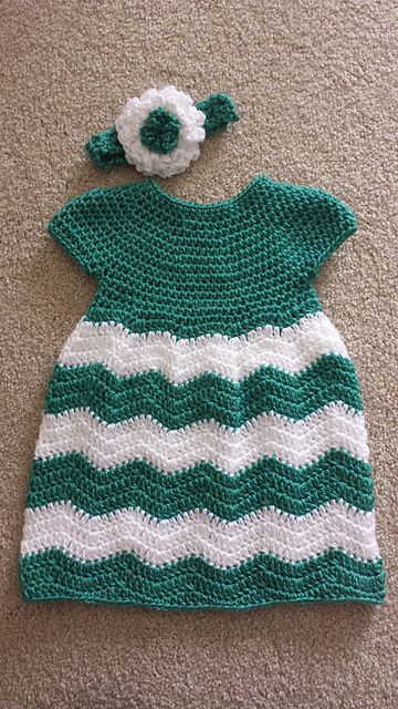Crochet Baby Clothing Luxury Ravelry Chevron Chic Baby Dress Pattern by Lorene Of Amazing 44 Ideas Crochet Baby Clothing