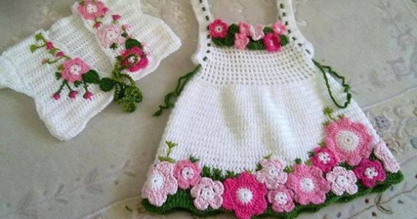 Crochet Baby Clothing New Crochet Baby Dress Patterns for Free Of Amazing 44 Ideas Crochet Baby Clothing