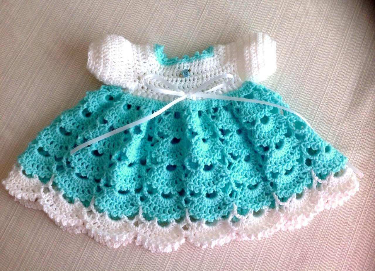 Crochet Baby Clothing Unique Newborn Crochet Baby Dress Janice Pattern Of Amazing 44 Ideas Crochet Baby Clothing