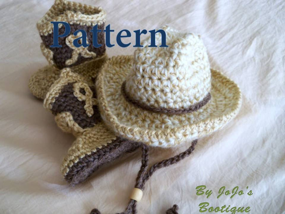 Crochet Baby Cowboy Hat and Boots Pattern Free Awesome Crochet Baby Cowboy Hat and Boots Patterns Baby Cowboy Hat Of Brilliant 40 Ideas Crochet Baby Cowboy Hat and Boots Pattern Free