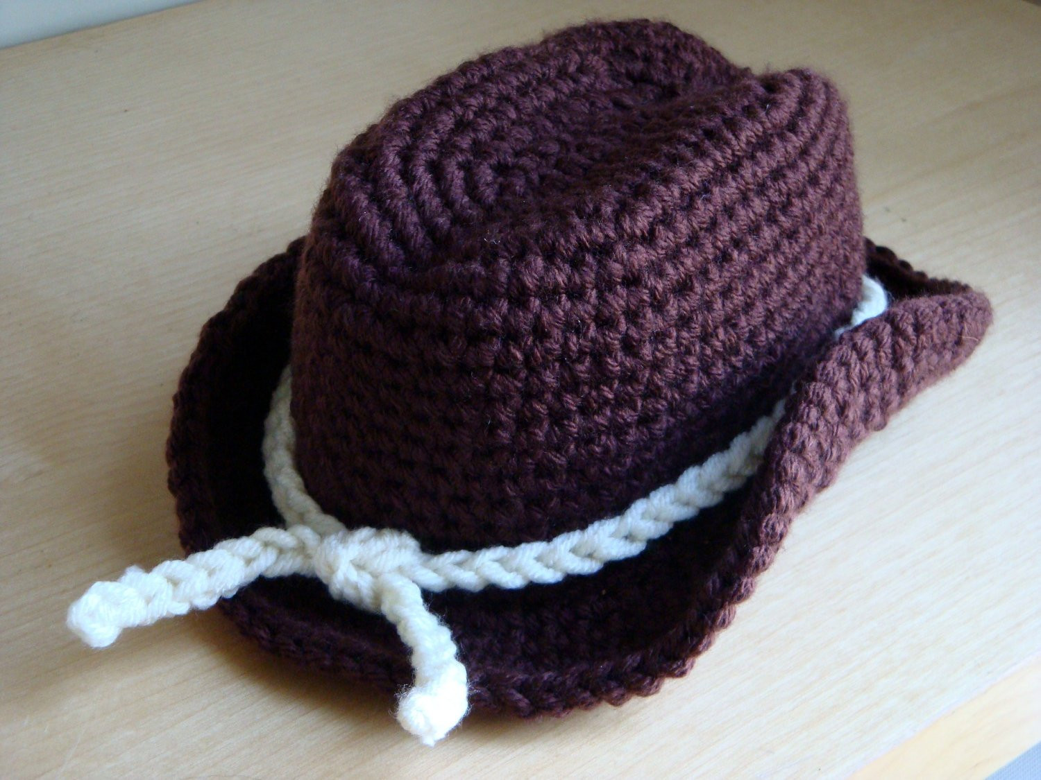 Crochet Baby Cowboy Hat and Boots Pattern Free Awesome Crochet Cowboy Hat Graphy Prop Hat Only Newborn Of Brilliant 40 Ideas Crochet Baby Cowboy Hat and Boots Pattern Free