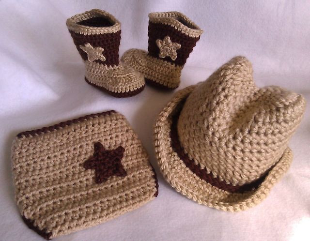 Crochet Baby Cowboy Hat and Boots Pattern Free Best Of Crochet Cowboy Boots Cowboy Hat & Diaper Cover Baby by Of Brilliant 40 Ideas Crochet Baby Cowboy Hat and Boots Pattern Free