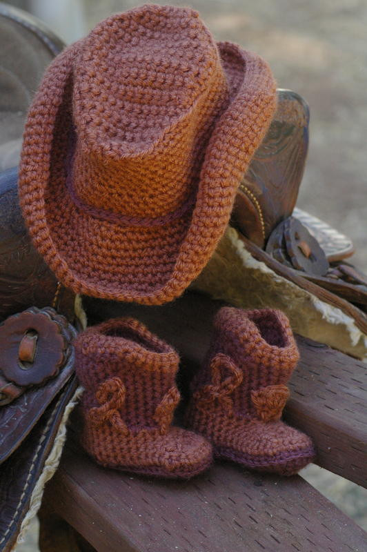 Crochet Baby Cowboy Hat and Boots Pattern Free Inspirational Baby Cowboy Boots and Hat Baby & toddler Items Of Brilliant 40 Ideas Crochet Baby Cowboy Hat and Boots Pattern Free