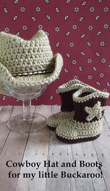 Crochet Cowboy Outfit Pattern Free Video Tutorial