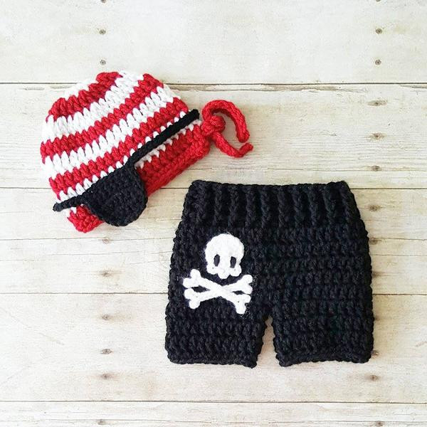 Crochet Baby Diaper Cover and Hat Beautiful Crochet Baby Pirate Hat Beanie Shorts Diaper Cover Pants Of Perfect 50 Photos Crochet Baby Diaper Cover and Hat