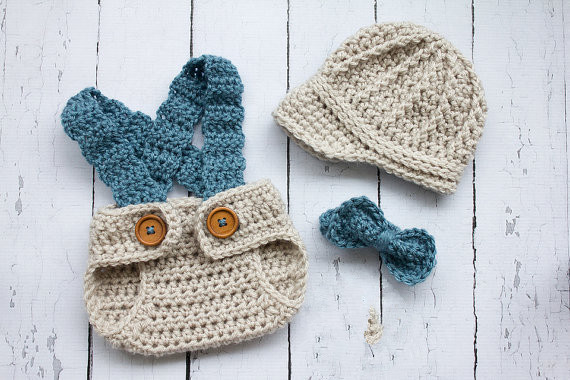Crochet Baby Diaper Cover and Hat Elegant Crochet Newborn Hat Baby Boy Hat Newsboy Hat Set with Bow Of Perfect 50 Photos Crochet Baby Diaper Cover and Hat