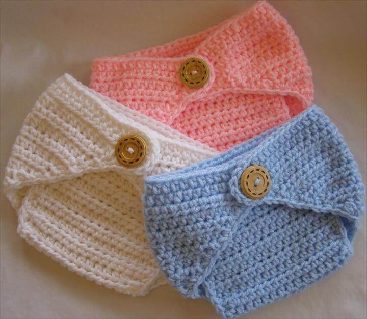 Crochet Baby Diaper Cover and Hat Fresh 65 Crochet Amazing Baby Diaper for Outfits Of Perfect 50 Photos Crochet Baby Diaper Cover and Hat