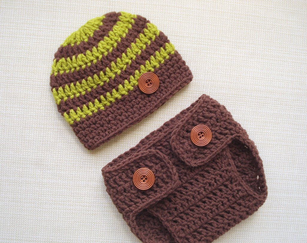 Crochet Baby Diaper Cover and Hat Luxury Crochet Newborn Hat and Diaper Cover Set Baby Boy Photo Outfit Of Perfect 50 Photos Crochet Baby Diaper Cover and Hat