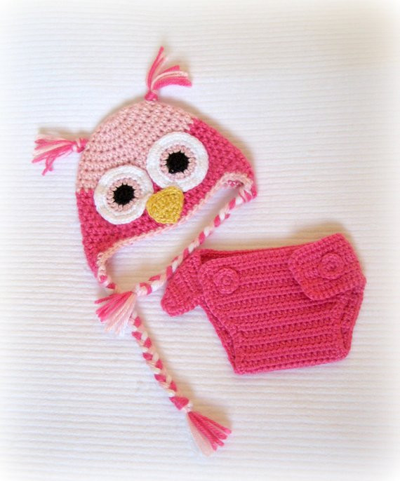 Crochet Baby Diaper Cover and Hat New Crochet Baby Owl Hat and Diaper Cover Set Newborn Of Perfect 50 Photos Crochet Baby Diaper Cover and Hat