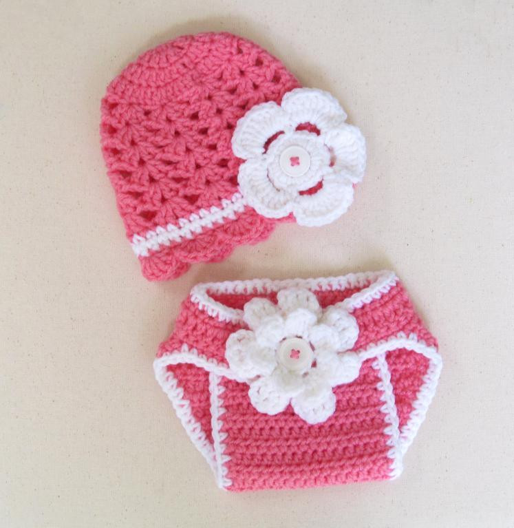 Crochet Baby Diaper Cover and Hat New You Have to See Baby Summer Hat & Diaper Cover by Of Perfect 50 Photos Crochet Baby Diaper Cover and Hat