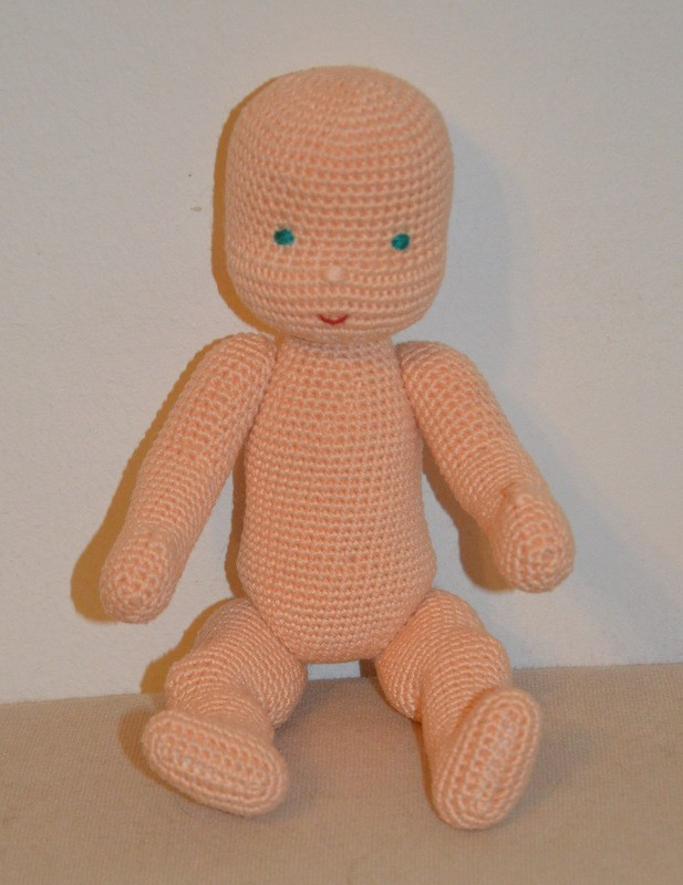 Crochet Baby Doll Pattern Awesome Waldorf Inspired Baby Doll – Amigurumibb by Che Che Of Amazing 40 Pics Crochet Baby Doll Pattern