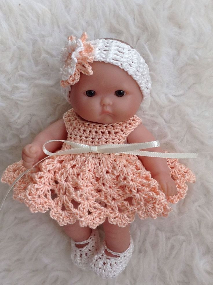 Crochet Baby Doll Pattern Lovely 126 Best Images About Baby Dolls Clothing Crochet & Knit Of Amazing 40 Pics Crochet Baby Doll Pattern