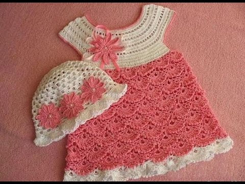 Crochet Baby Dress Awesome How to Crochet Tutorial for Crochet Baby Dress 2 Part Of Charming 50 Photos Crochet Baby Dress