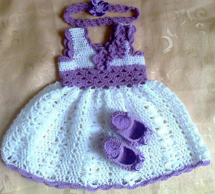 Crochet Baby Dress Patterns Awesome Crochet Baby Dress Set Pattern Free Of Awesome 42 Models Crochet Baby Dress Patterns