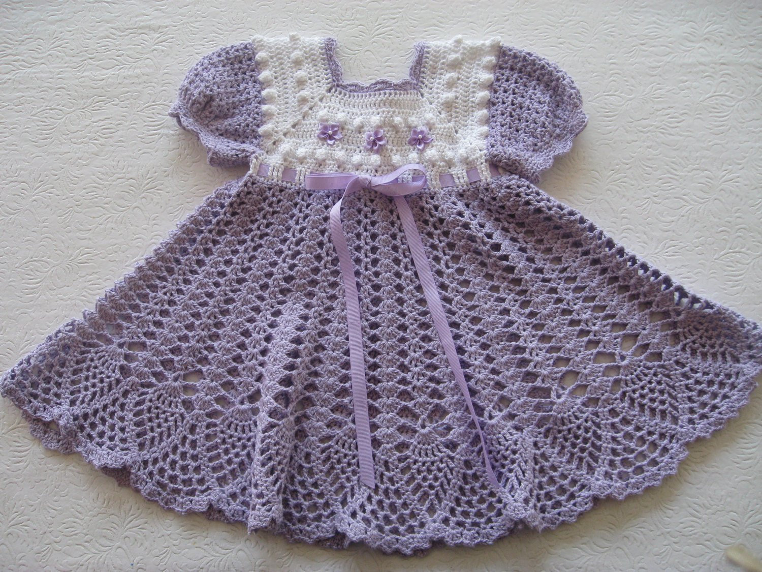 Crochet Baby Dress Patterns Awesome Crochet Pattern for Baby Girl Dress Pdf by thepatternparadise Of Awesome 42 Models Crochet Baby Dress Patterns