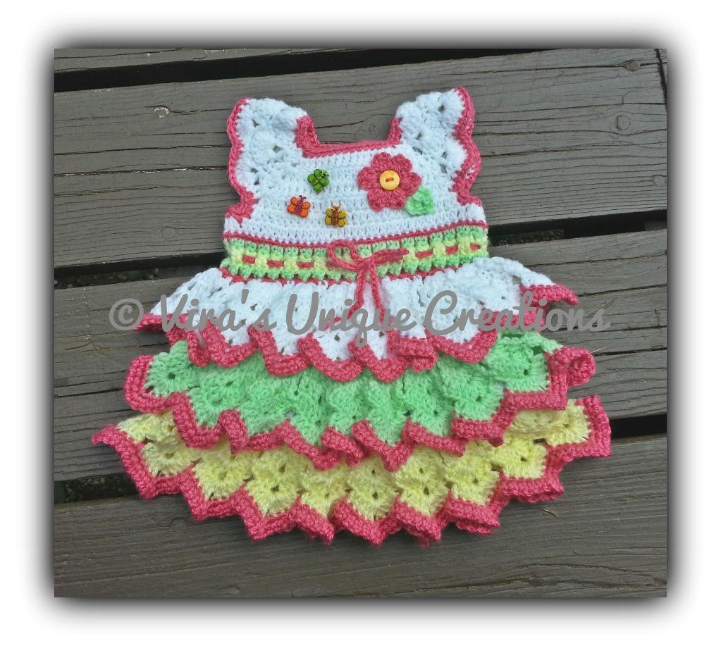 Crochet Baby Dress Patterns Awesome Free Pattern Friday 7 Free Crochet Patterns On Craftsy Of Awesome 42 Models Crochet Baby Dress Patterns
