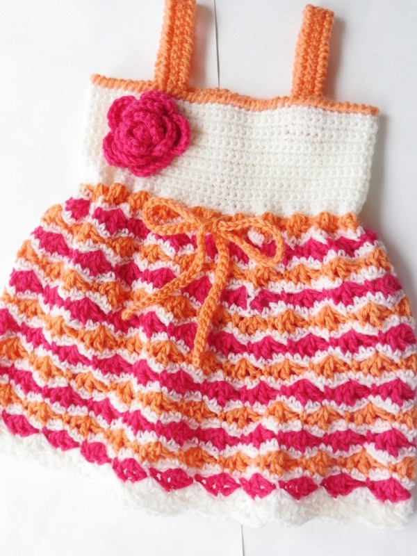 Crochet Dreamz Olivia Dress Crochet Pattern for Baby