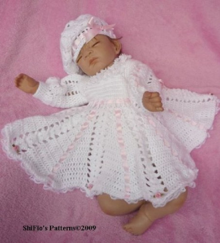 Crochet Baby Dress Patterns Best Of top 10 Crocheting Patterns for Baby Clothes top Inspired Of Awesome 42 Models Crochet Baby Dress Patterns