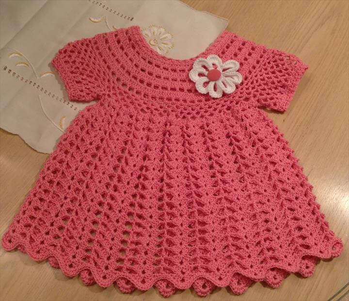 Crochet Baby Dress Patterns Elegant 26 Gorgeous Crochet Baby Dress for Babies Of Awesome 42 Models Crochet Baby Dress Patterns