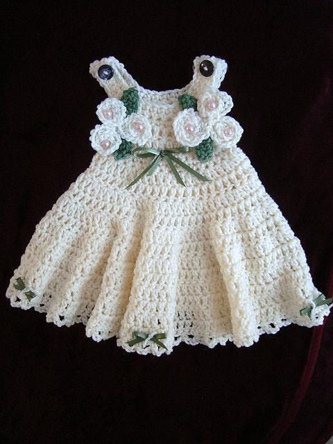 24 gorgeous crochet dress patterns for girls and babies