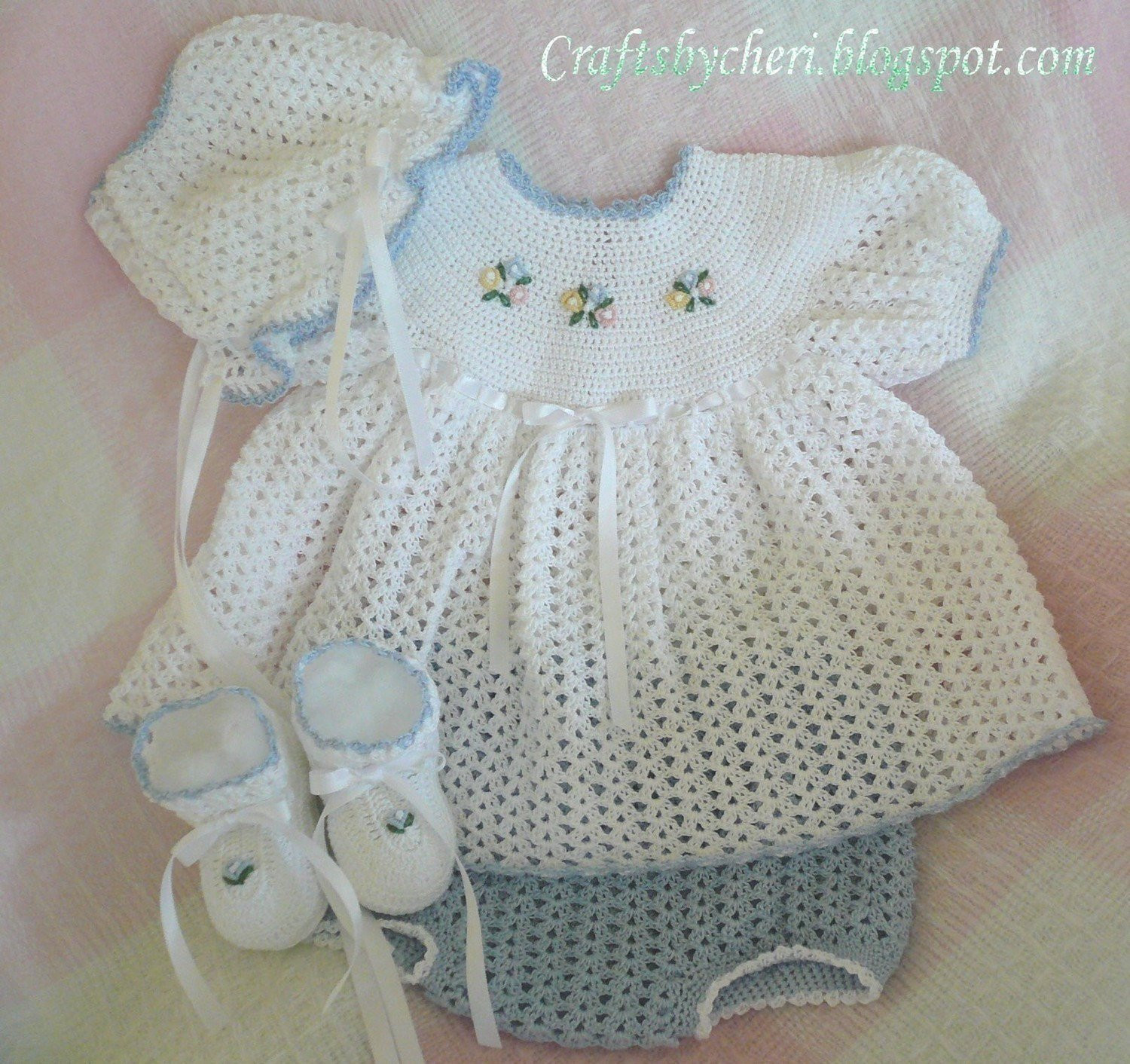 Crochet Baby Dress Patterns Fresh Cheri Crochet original Baby Pattern Newborn Size Dress Of Awesome 42 Models Crochet Baby Dress Patterns