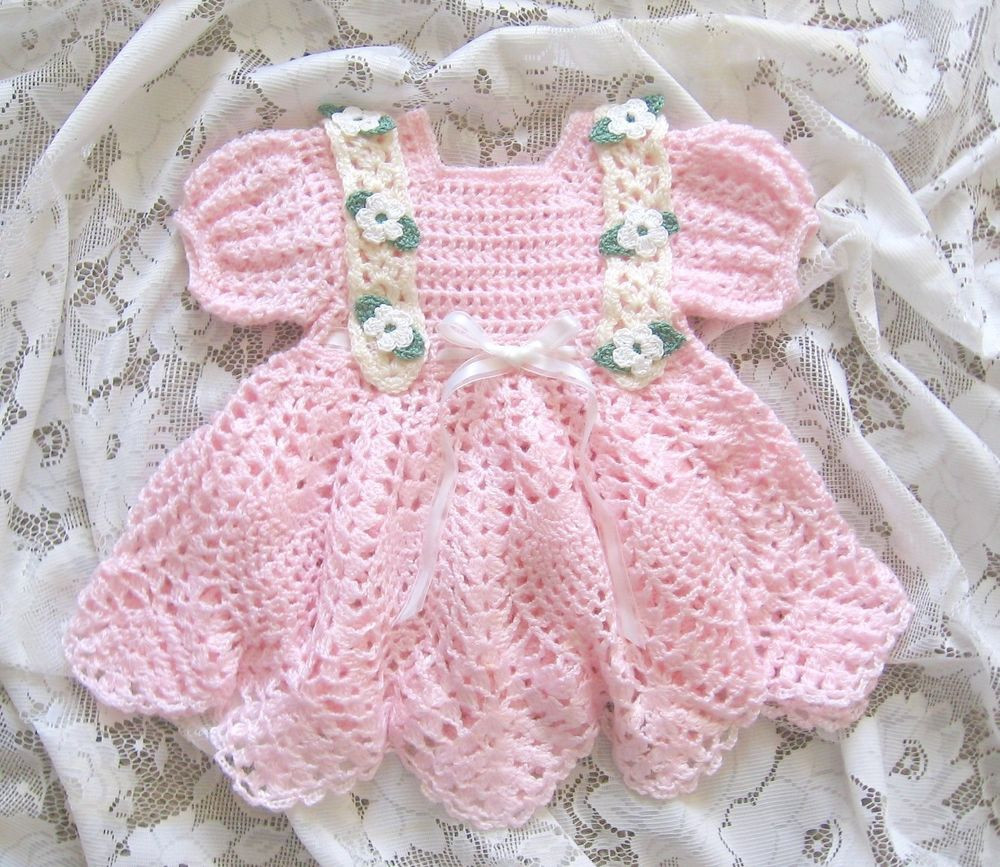 "Crochet Baby Dress Patterns Lovely Crochet Pattern for ""baileigh"" Baby Dress by Rebecca Leigh Of Awesome 42 Models Crochet Baby Dress Patterns"