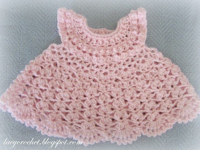 Crochet Baby Dress Patterns Lovely Lacy Crochet Plumeria Baby Dress Of Awesome 42 Models Crochet Baby Dress Patterns