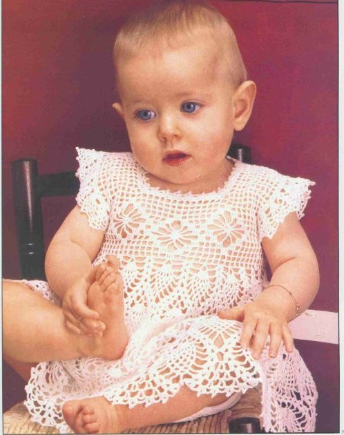 Crochet Baby Dress Patterns New Free Baby Dress Crochet Patterns Free Crochet Patterns Of Awesome 42 Models Crochet Baby Dress Patterns