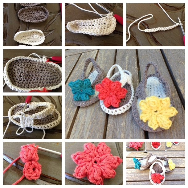 Crochet Baby Flip Flops Awesome Crochet Baby Owls that Look Adorable as ornaments Of Contemporary 43 Models Crochet Baby Flip Flops