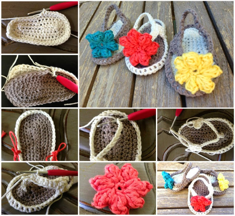 Crochet Baby Flip Flops Awesome Ideas & Products Crochet Baby Flip Flops Of Contemporary 43 Models Crochet Baby Flip Flops
