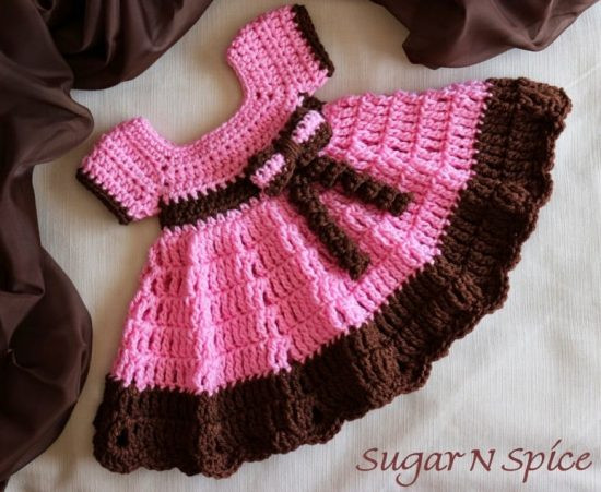 Crochet Baby Girl Dresses New Free Baby Crochet Patterns Best Collection Of Superb 42 Models Crochet Baby Girl Dresses