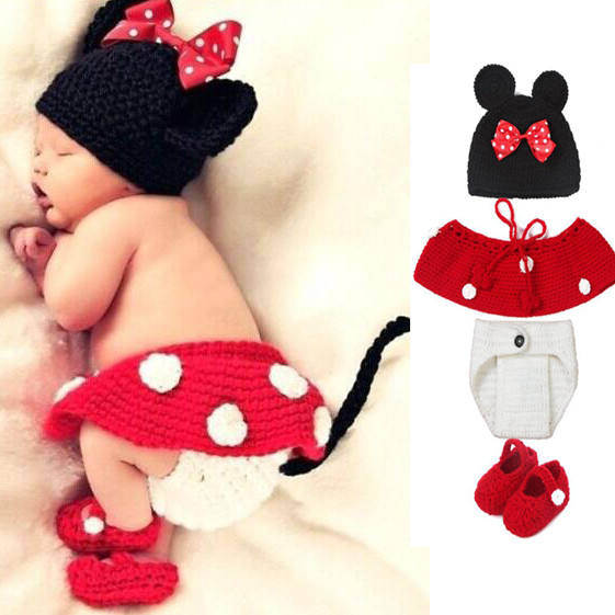 Crochet Baby Girl Outfits Lovely Newborn Baby Girl Boy Crochet Hat Clothes Props Of Perfect 41 Pictures Crochet Baby Girl Outfits