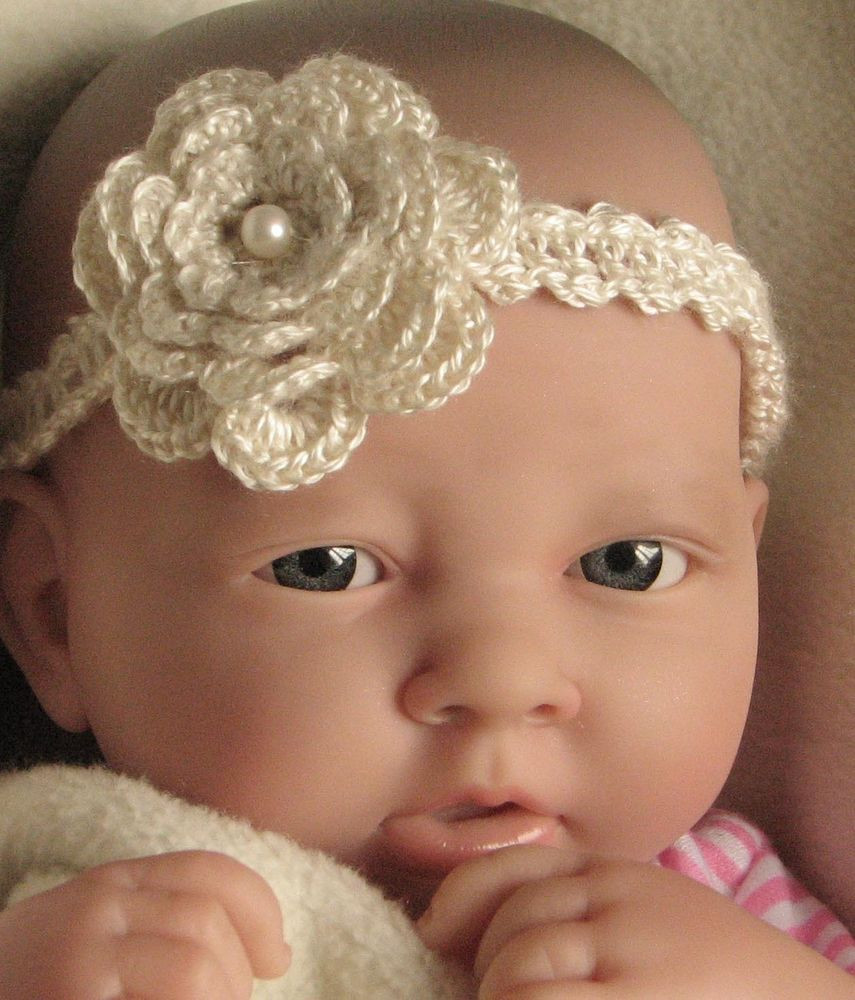 Crochet Baby Headbands Awesome Crochet Pattern Instructions Baby Headband with Flower Of Great 43 Models Crochet Baby Headbands