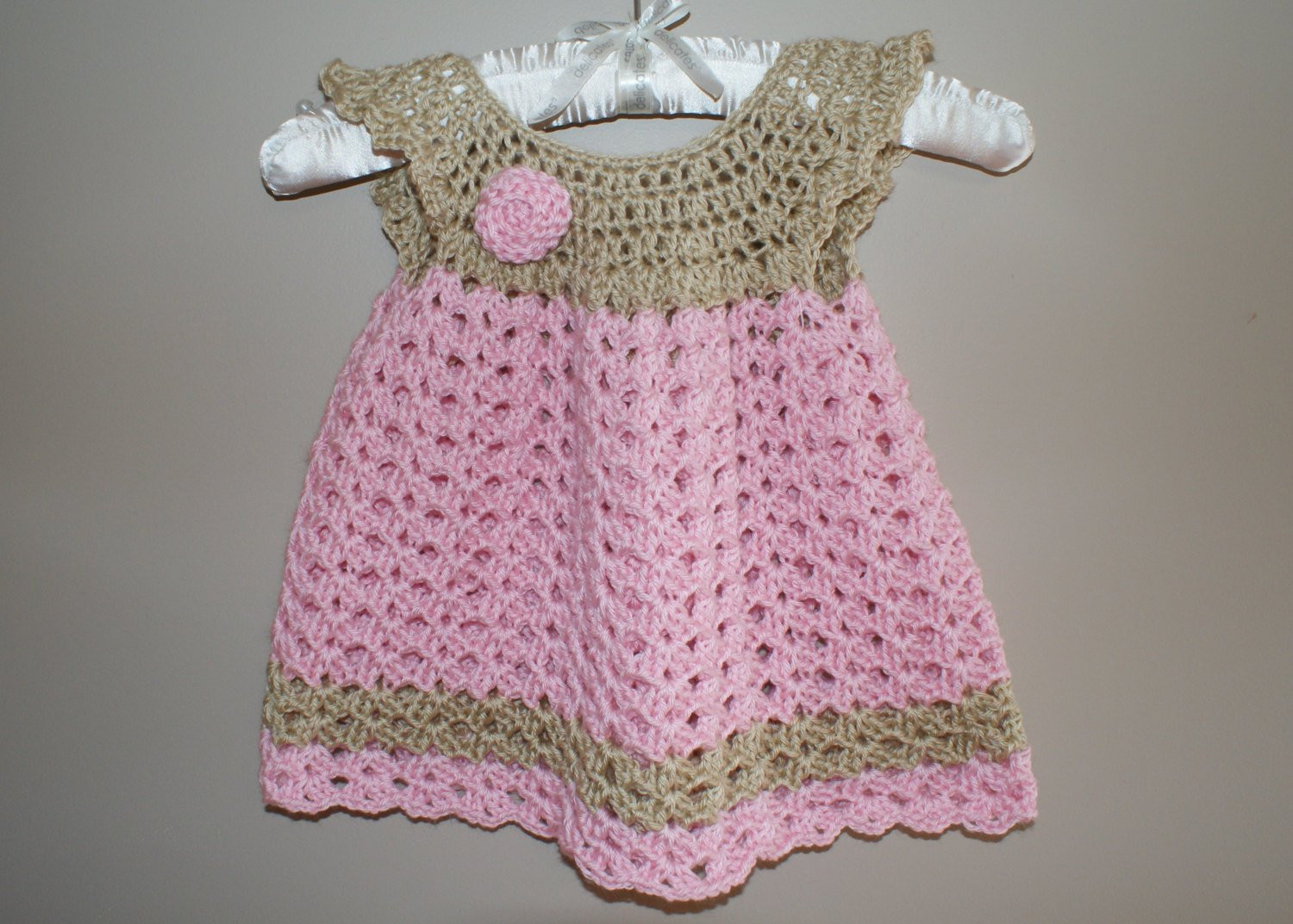 Crochet Baby Outfits Fresh Baby Dress Pinafore Crochet Newborn Dress Infant Baby Girl Of Marvelous 44 Photos Crochet Baby Outfits