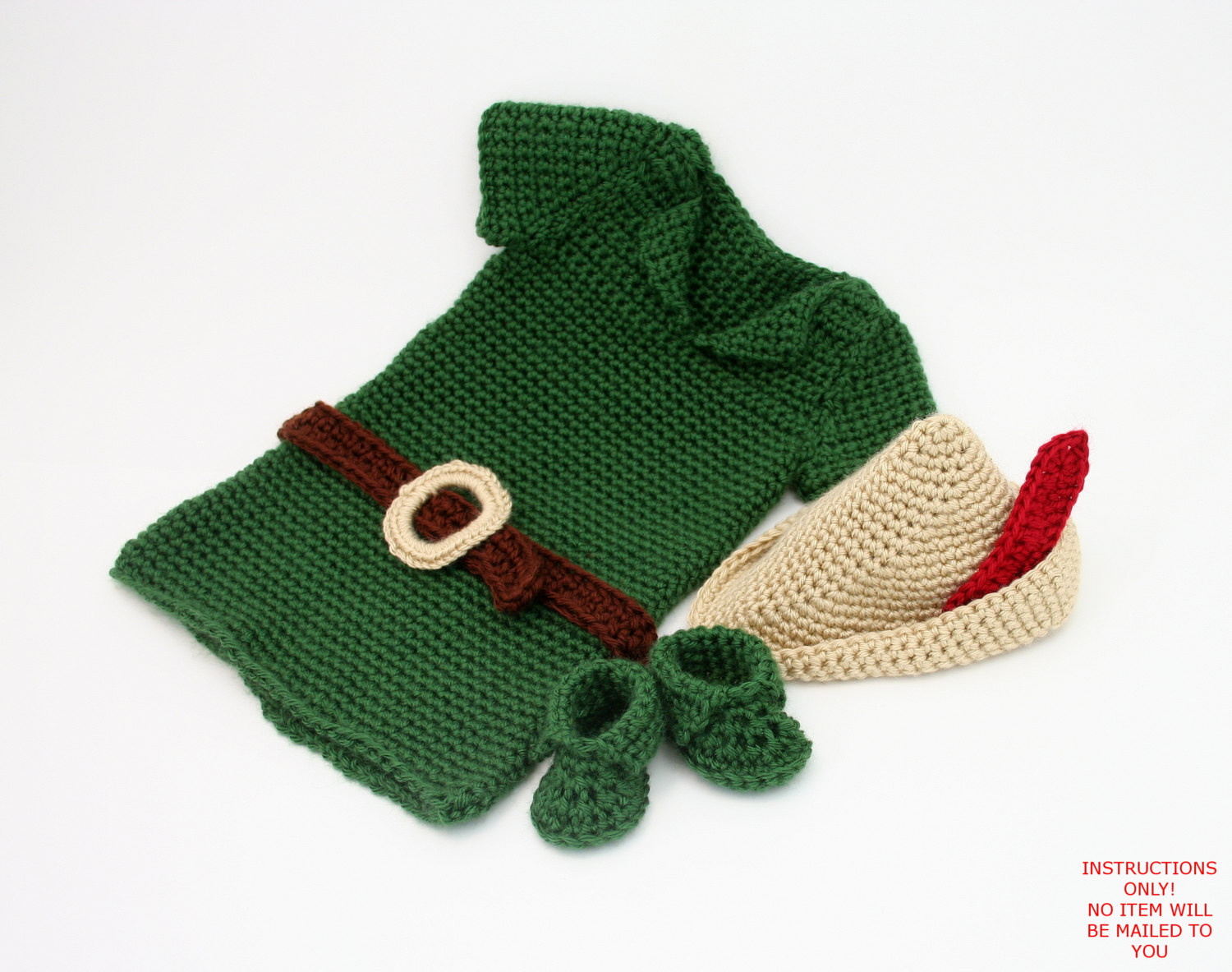 Crochet Baby Outfits Luxury Pdf Digital Pattern Boy Crochet Outfitbaby Robin Hood Costume Of Marvelous 44 Photos Crochet Baby Outfits