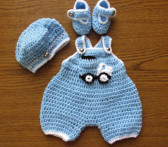 Crochet Baby Outfits Luxury Rompers Baby Girls and Boys On Pinterest Of Marvelous 44 Photos Crochet Baby Outfits