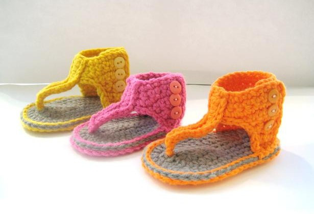 Crochet Baby Sandals Awesome for the Love Of Crochet Along Gladiator Sandals Crochet Of New 46 Models Crochet Baby Sandals