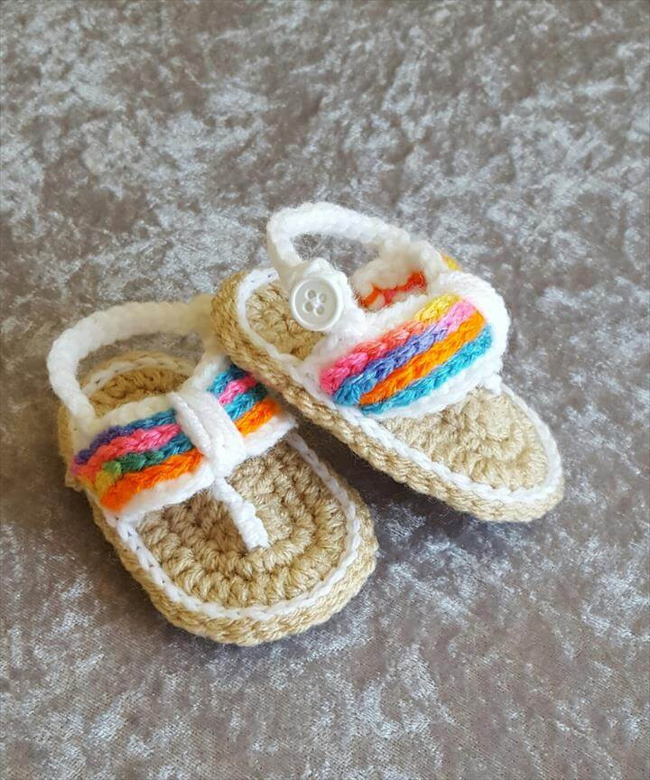 Crochet Baby Sandals Best Of 36 Gorgeous Crochet Baby Gladiator Sandals Of New 46 Models Crochet Baby Sandals