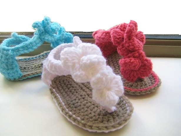 Crochet Baby Sandals Fresh Crochet Dreamz orchid Sandals Crochet Baby Booties Pattern Of New 46 Models Crochet Baby Sandals