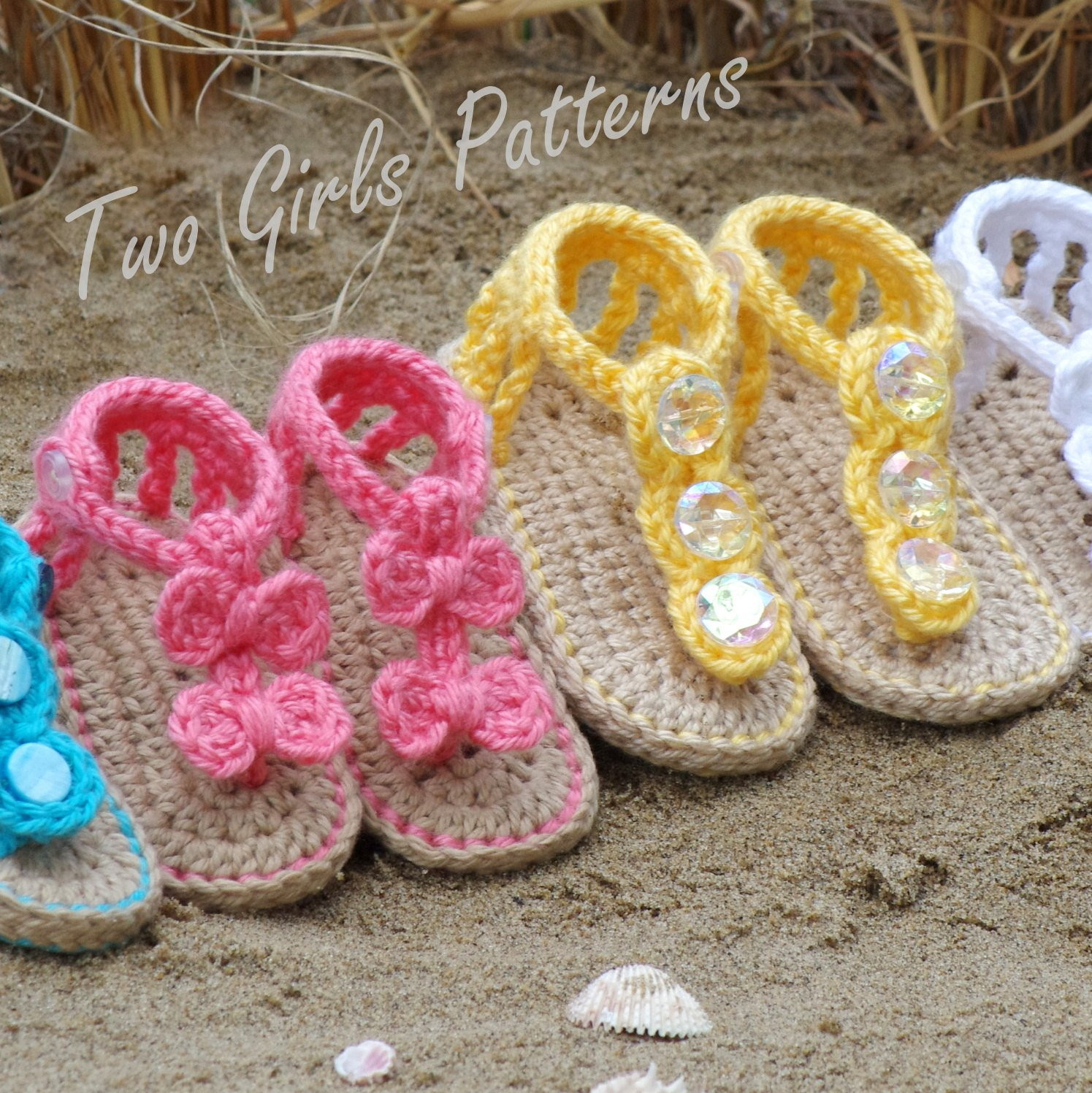 Crochet Baby Sandals Inspirational Baby Crochet Pattern Sandal 2 Versions and Free Barefoot Of New 46 Models Crochet Baby Sandals