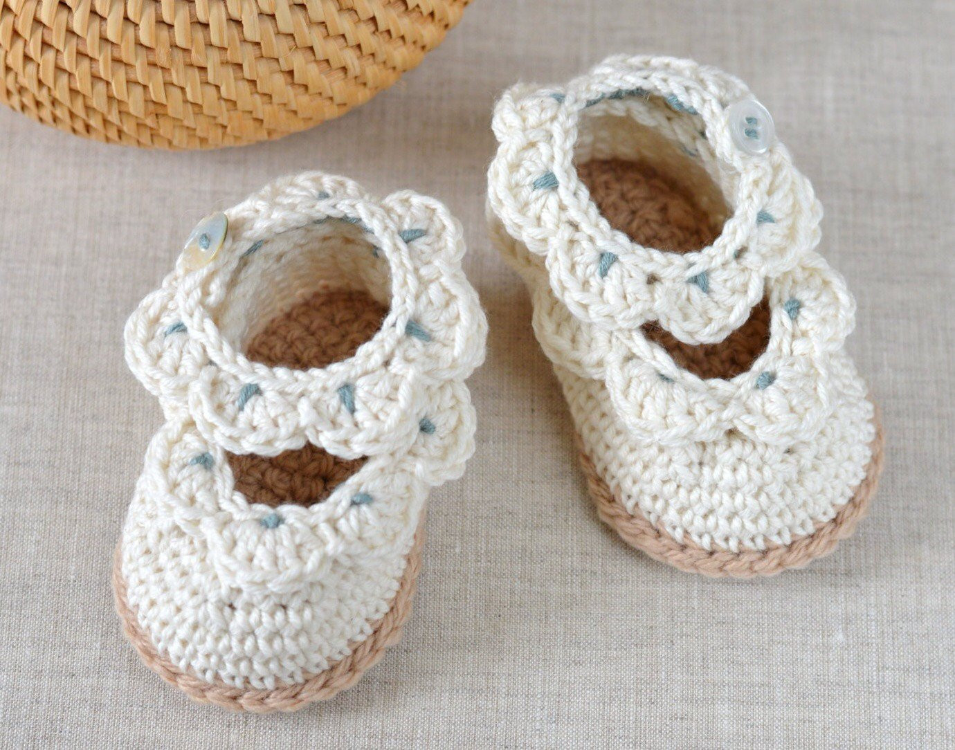 Crochet Baby Sandals Inspirational Crochet Pattern Baby Shoes Baby Sandals with Scallops Easy Of New 46 Models Crochet Baby Sandals