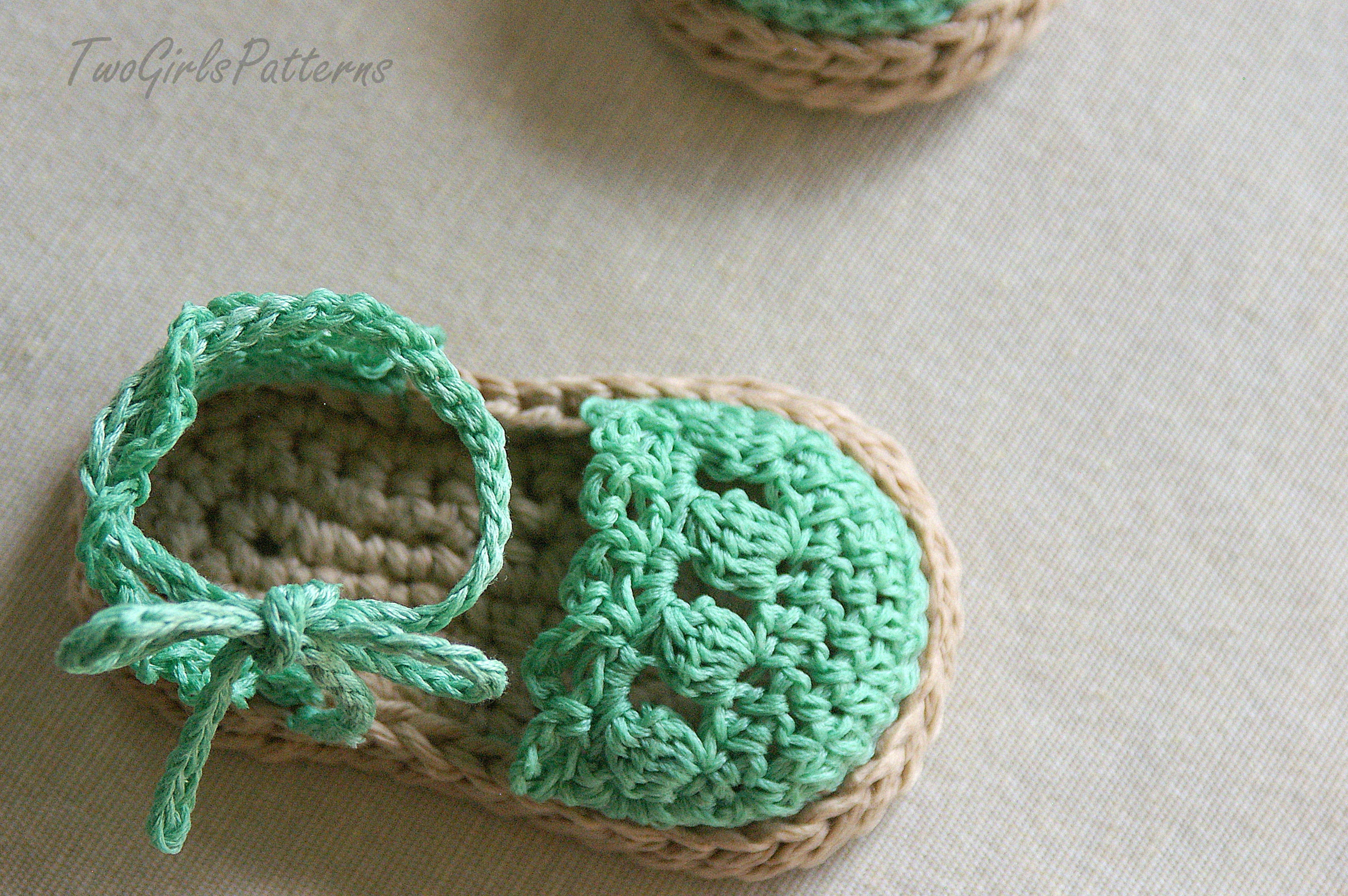 Crochet Baby Sandals Inspirational Crochet Pattern for Baby Espadrille Sandals Crochet Of New 46 Models Crochet Baby Sandals