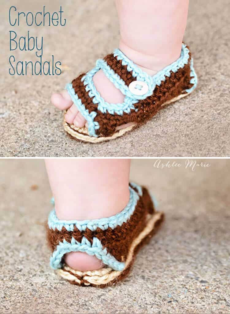 Crochet Baby Sandals Lovely Crochet Baby Sandals Of New 46 Models Crochet Baby Sandals
