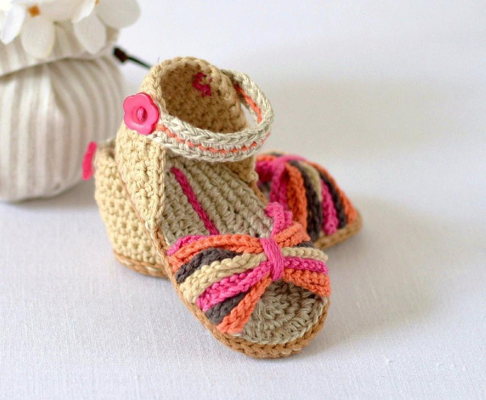 Crochet Baby Sandals Luxury Best Crochet Baby Sandals • Lovecrochet Blog Of New 46 Models Crochet Baby Sandals