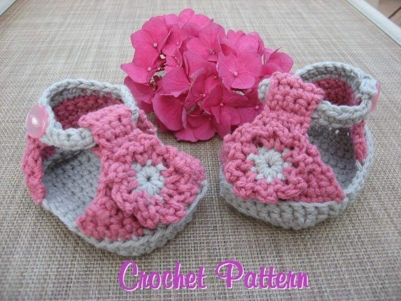 Crochet Baby Sandals New Baby Sandals Crochet Pattern Pdf Super Cute Super Easy Of New 46 Models Crochet Baby Sandals