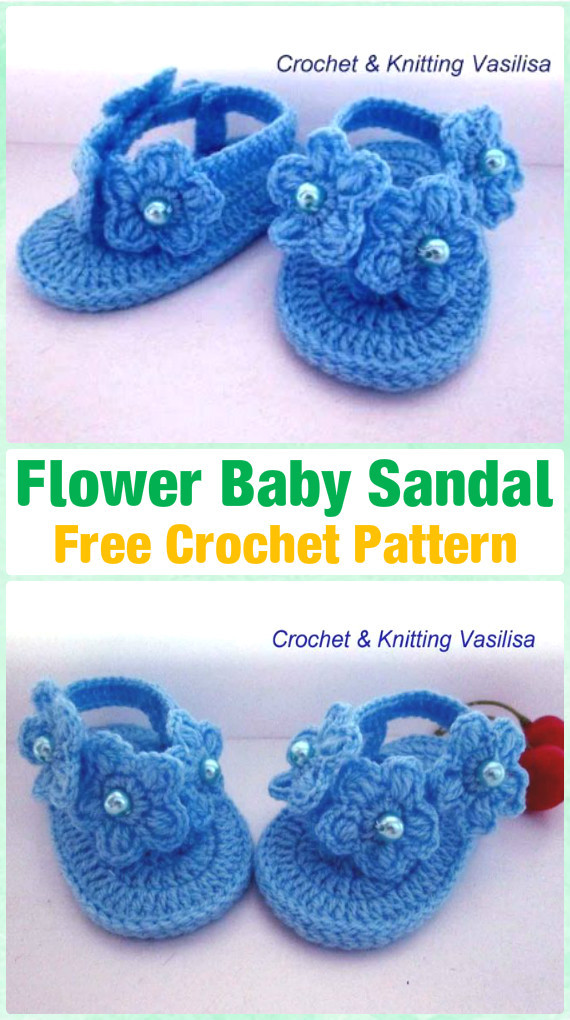Crochet Baby Sandals Pattern Awesome 20 Crochet Baby Flip Flop Sandals [free Patterns] Of Perfect 43 Photos Crochet Baby Sandals Pattern