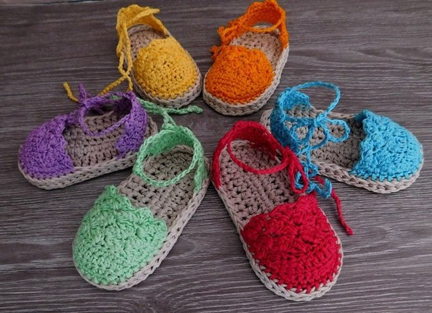 Crochet Baby Sandals Pattern Awesome Baby Espadrille Baby Sandals Baby Booties Crochet Pattern Of Perfect 43 Photos Crochet Baby Sandals Pattern