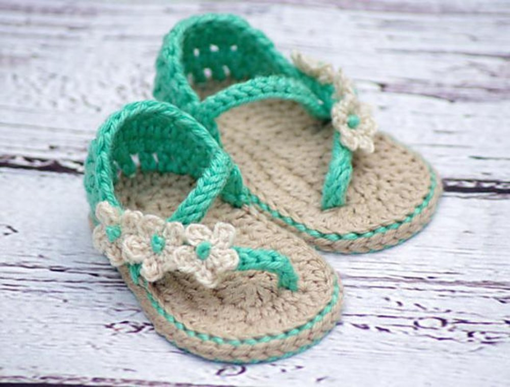 Crochet Baby Sandals Pattern Awesome Best Crochet Baby Sandals • Lovecrochet Blog Of Perfect 43 Photos Crochet Baby Sandals Pattern